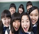 自信いっぱいの女子中学生