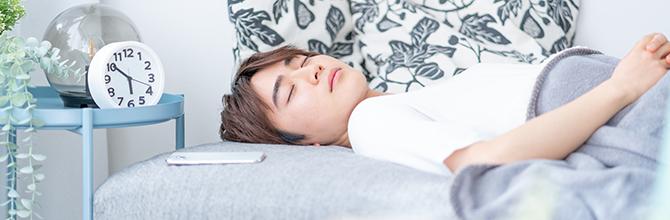 「高校生にとって理想の睡眠時間とは?良い睡眠をとるコツも紹介」サムネイル画像